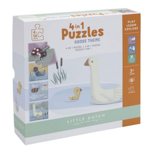 Little Dutch Puzzle Goose 1