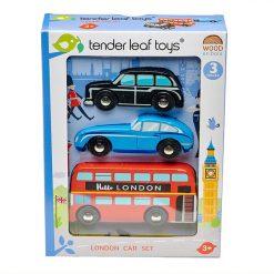 Tender Leaf Toys  Drevené autá London 2