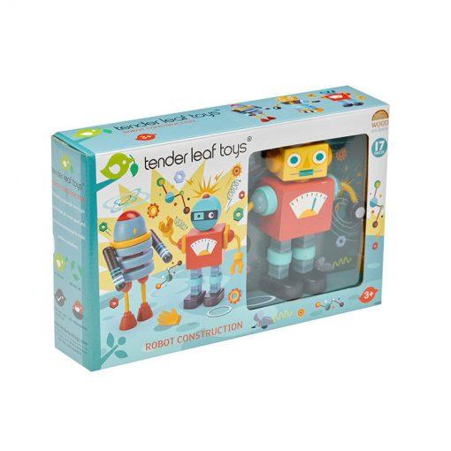 Tender Leaf Toys Drevené postavičky Roboty 2