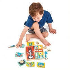 Tender Leaf Toys Drevené Puzzle Ľudské telo 3
