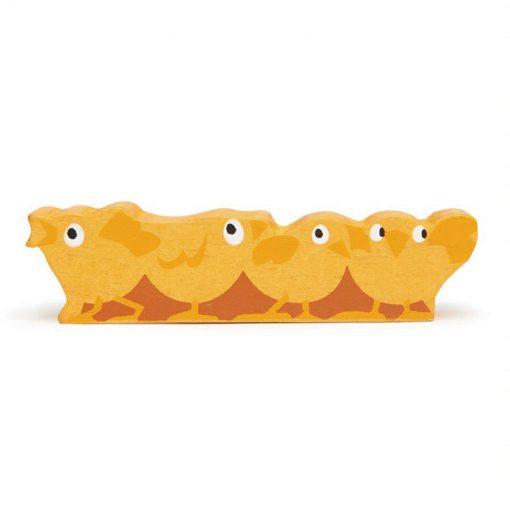 Tender Leaf Toys Zvieratká z farmy Kuriatka 1