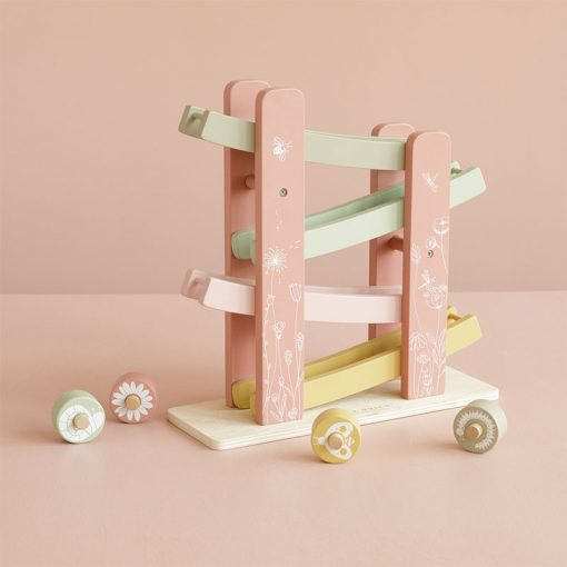 Little Dutch Závodná dráha Pink Flowers 2