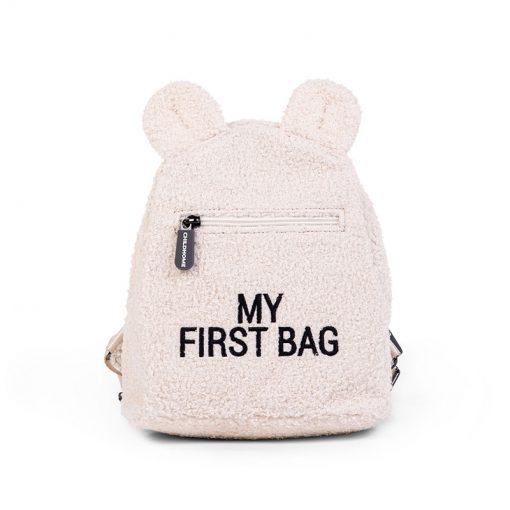 Childhome Detský batoh My first bag Teddy of white 1