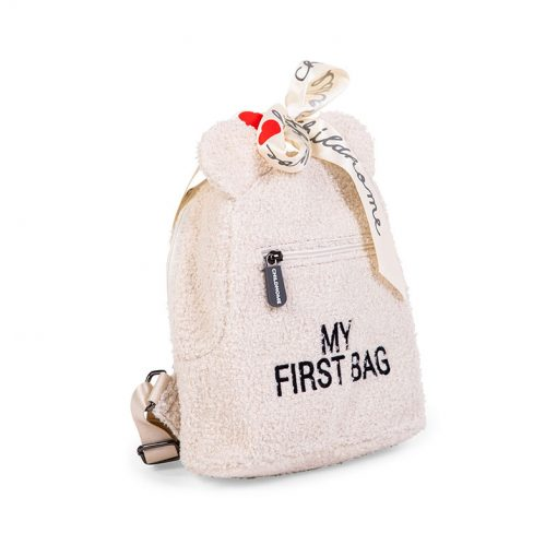 Childhome Detský batoh My first bag Teddy of white 2