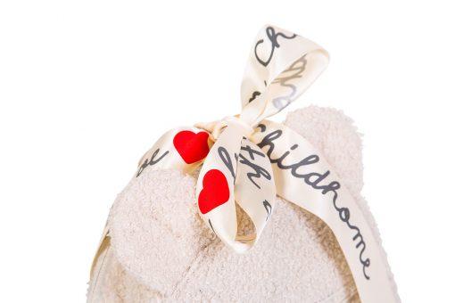 Childhome Detský batoh My first bag Teddy of white 4