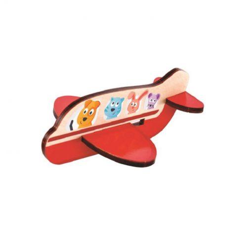 Hape 3D Puzzle lietadlo 1