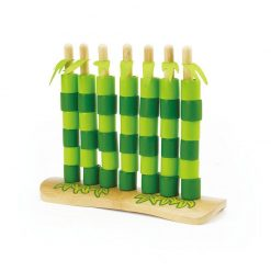 Hape Hra Quattro bambusová 1