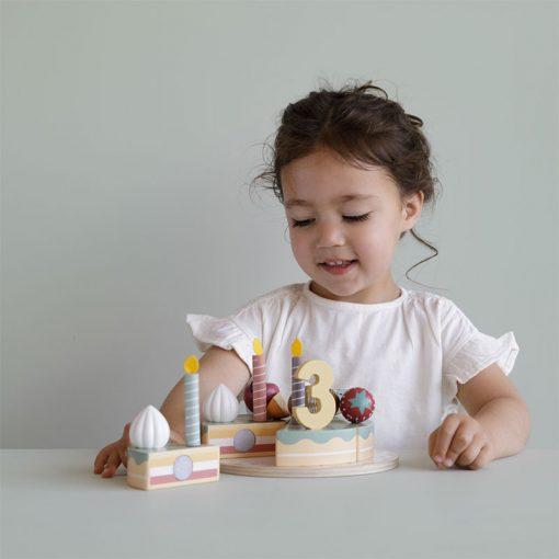 Little Dutch Narodeninová torta XL 5