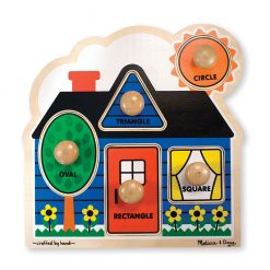 Melissa & Doug 5 dielne puzzle Tvary 1