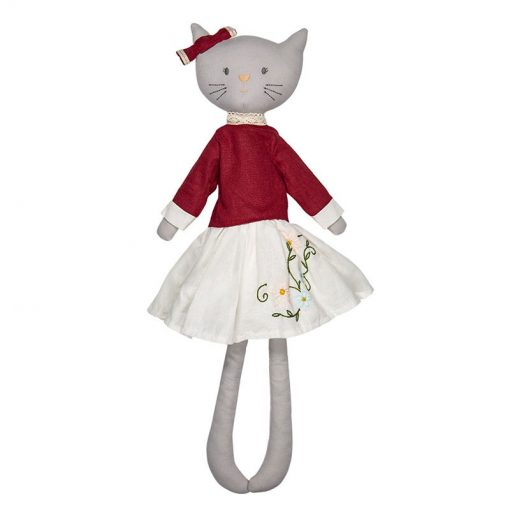 Bonikka ľanová bábika Chi Chi Bellamy mačička 1