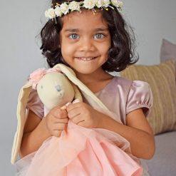 Bonikka ľanová bábika Chi Chi Marcella zajačik 2