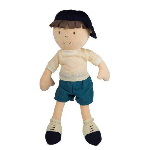 Bonikka látková bábika chlapec Leo 1