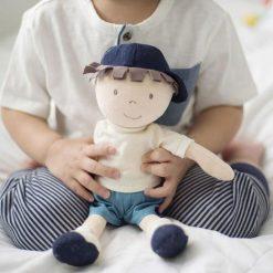 Bonikka látková bábika chlapec Leo 2