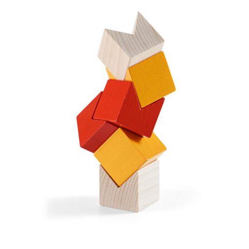 Haba 3D stavebnica oranžová 2