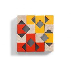 Haba 3D stavebnica oranžová 4