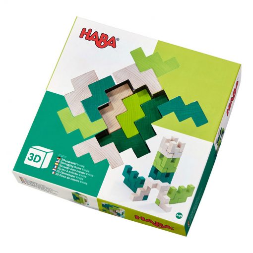 Haba 3D stavebnica zelená 1