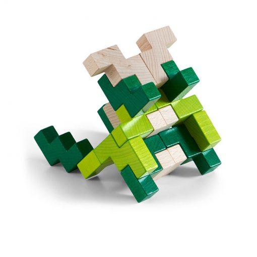 Haba 3D stavebnica zelená 2