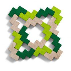Haba 3D stavebnica zelená 3