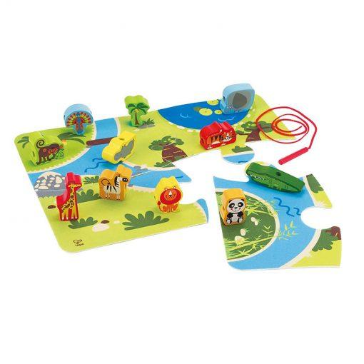 Hape Set Safari so zvieratkami 1