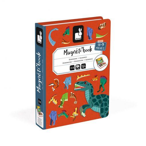Janod Magnetická kniha Dinosauri 1