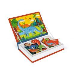 Janod Magnetická kniha Dinosauri 3