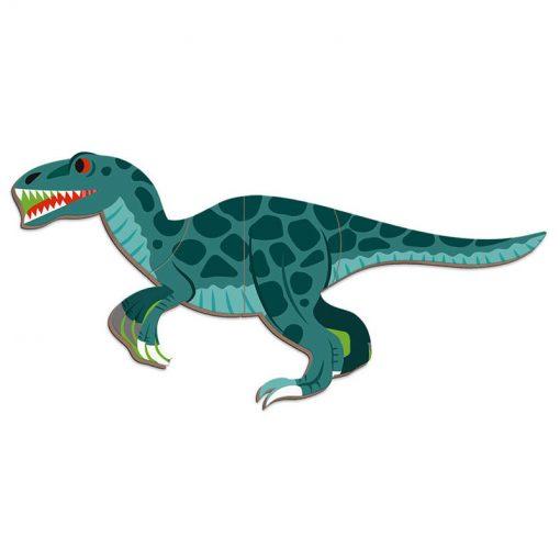 Janod Magnetická kniha Dinosauri 4