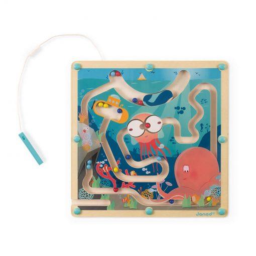 Janod Magnetický labyrint s perom Život v oceáne 1