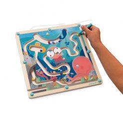 Janod Magnetický labyrint s perom Život v oceáne 3
