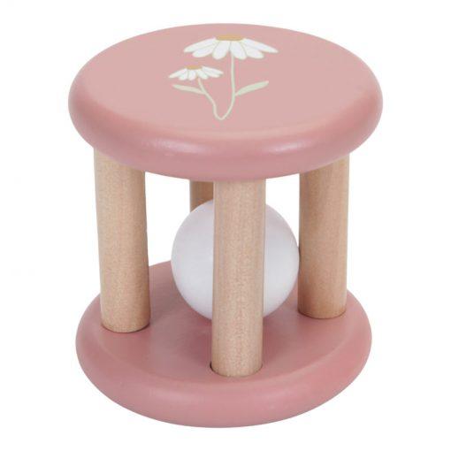 Little Duch Gulička v klietke Pink Flowers 2