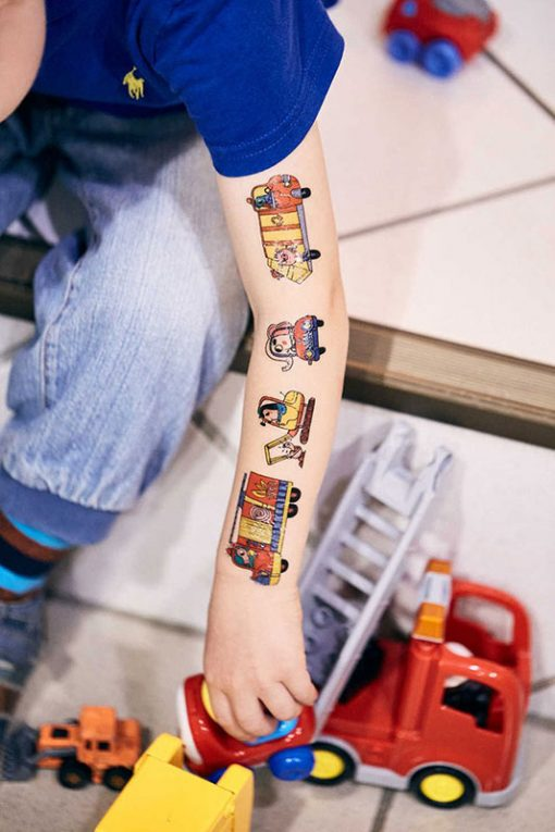 Kresky Tetovačky Autíčkové 2