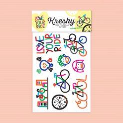 Kresky Tetovačky Bicyklové 1