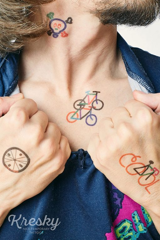 Kresky Tetovačky Bicyklové 2