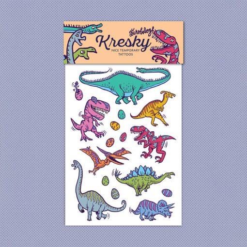 Kresky Tetovačky Dinosaury 1