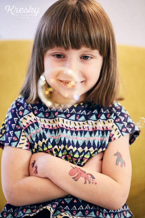 Kresky Tetovačky Jednorožce 2