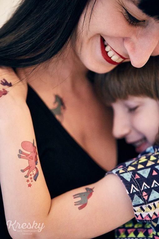 Kresky Tetovačky Jednorožce 4