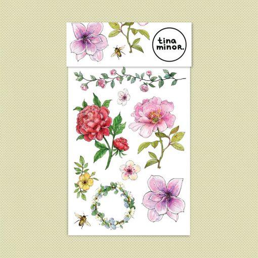 Kresky Tetovačky Kvetinkové 1