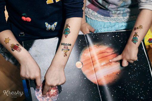 Kresky Tetovačky Vesmírne 3