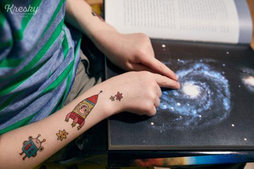 Kresky Tetovačky Vesmírne 4