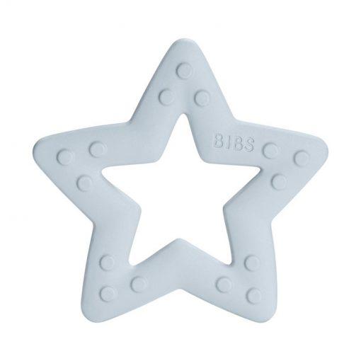 Bibs Baby Bitie hryzátko Star Baby blue 2