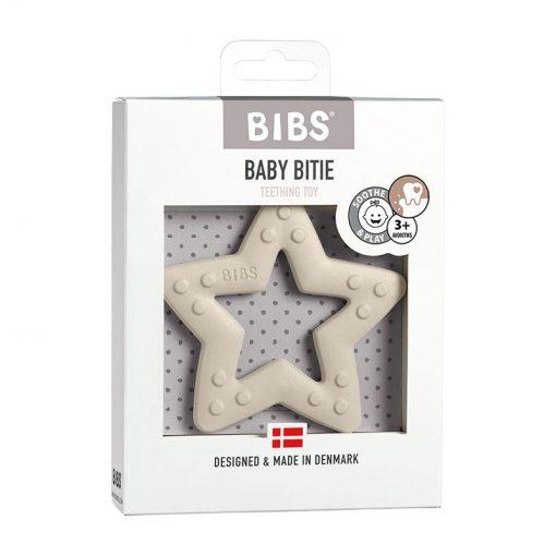 Bibs Baby Bitie hryzátko Star Ivory 1