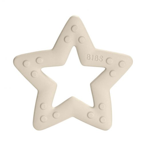 Bibs Baby Bitie hryzátko Star Ivory 2