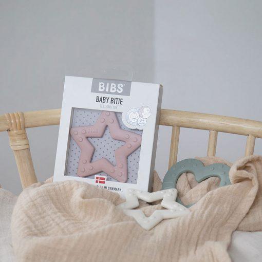 Bibs Baby Bitie hryzátko Star Ivory 3