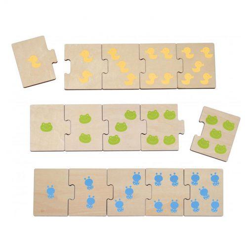 Haba Drevené puzzle Denné aktivity 2