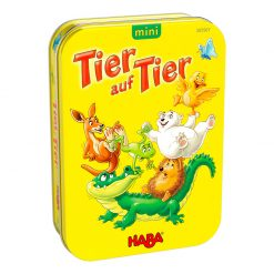 Haba Mini hra v kovovej krabici Zviera na zviera 1