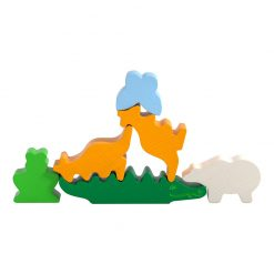 Haba Mini hra v kovovej krabici Zviera na zviera 3