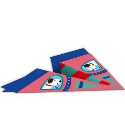 Janod Origami lietadlá 3