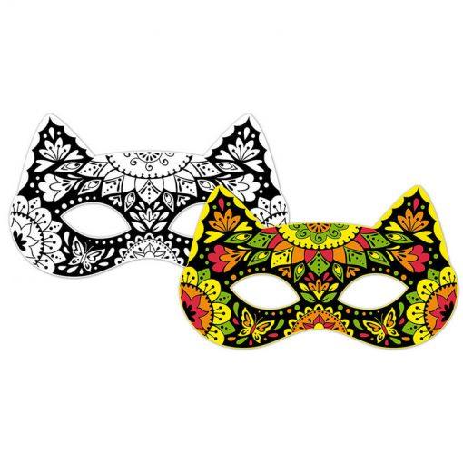 Janod Vyfarbovacie zvieracie masky 3