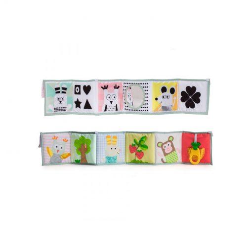 Taf Toys Kniha pre najmenších 3V1 1
