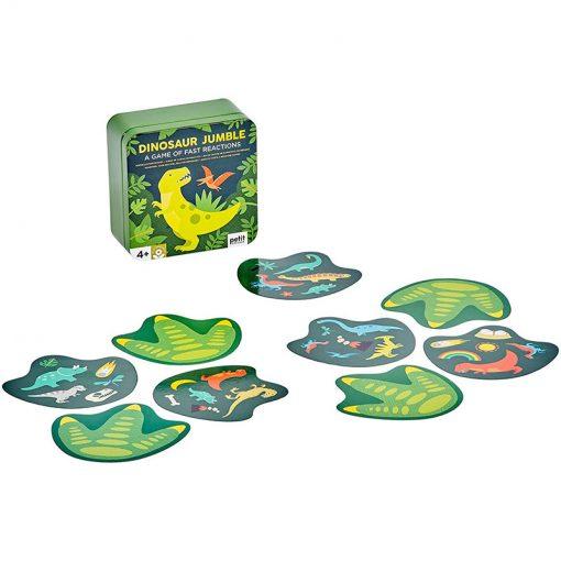 Petitcollage Kartová hra Dinosaury 2