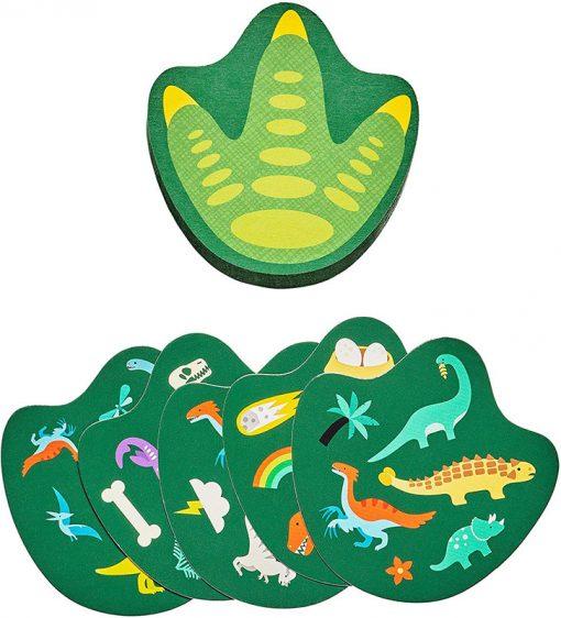 Petitcollage Kartová hra Dinosaury 3